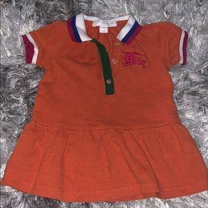 Toddler Burberry Dress 🍊
